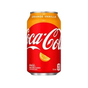 Coca-Cola Orange Vanilla (Laranja com Baunilha) 355ml