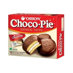 Orion Chocopie Alfajor com Marshmallow 12 un 468g