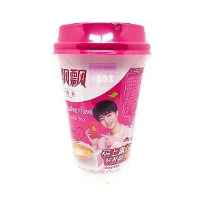 Xiang Piao Piao Chá de Sagu com leite Strawberry  80g