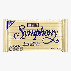 Barra Hershey's Symphony Toffee e Amêndoas 192g