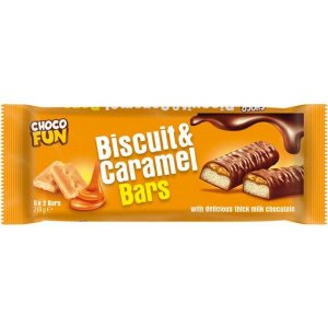 Choco Fun Biscuit & Caramel 210g