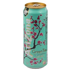 Arizona Green Tea With Ginseng & Honey 680ml