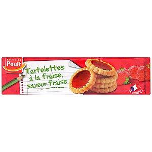 Biscuit Poult Tartlets Strawberry 150g