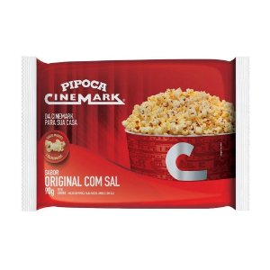 Pipoca Cine Mark Original com Sal 90g