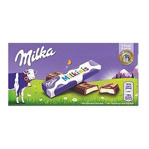 Milkinis Chocolate ao Leite Milka com recheio de leite 87,5g
