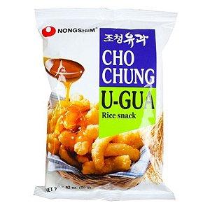 Nongshim Cho Chung U-GUA Rice Snack - Salgadinho de Arroz Doce 80g