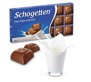 Schogetten Milk Chocolate Alpine 100g
