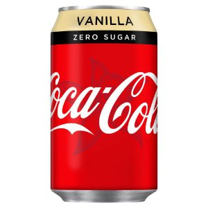 Coca-Cola Zero Vanilla 330ml