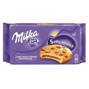Milka Sensations Cookies Gotas de Chocolate 156g