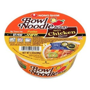 Nongshim Bowl Noodle Spicy Chicken 100g
