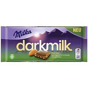 Milka Dark Milk Almond 100g