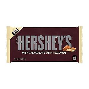 Hershey's Giant Milk Chocolate with Almonds 192g