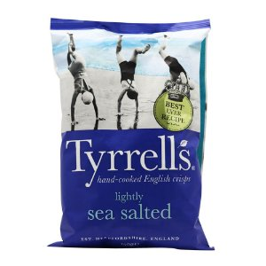 Tyrrell's Lightly Sea Salt 150g