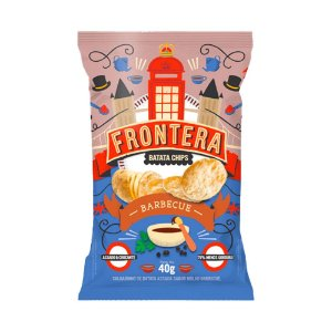 Frontera Batata Chips Barbecue 40g