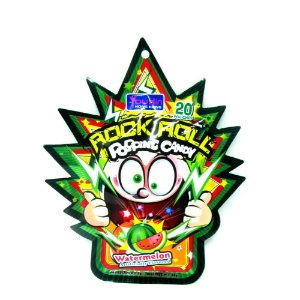 Rock Roll Popping Candy Watermelon 30g