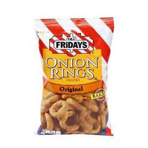 TGI Fridays Onion Snack 77g