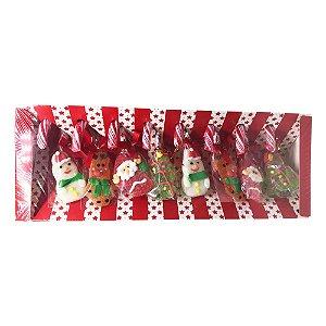 Candy Cane com Goma Christmas (Natal) 192g