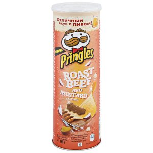 Pringles Roast Beef and Mustard 165g