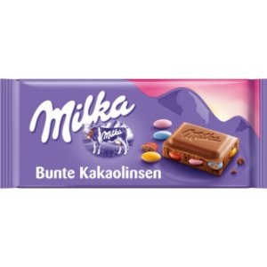 Milka Bunte Kakaolinsen 100g