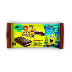 Chipicao Cocoa Cake Bar Vanilla 65g