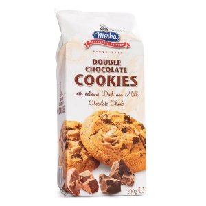 Merba Cookies Double Chocolate 200g