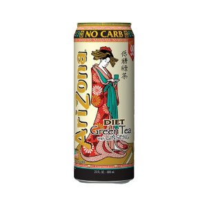 Arizona Zero Green Tea 680ml