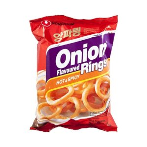 Nongshim Onion Flavored Rings Hot Spicy 40g