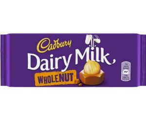 Cadbury Dairy Milk Wholenut 120g