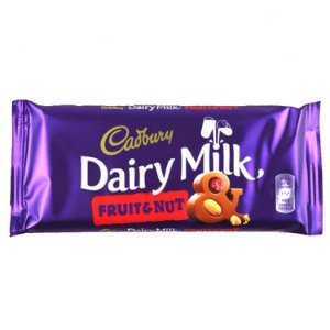 Cadbury Dairy Milk Fruit and Nut 110g