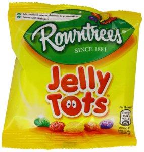 Rowntree's Balas Jelly Tots 42g