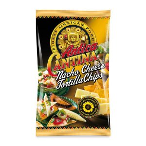 Tortila Chips Antica Cantina Nacho Cheese 200g