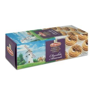 Borggreve Cookies chocolate Almonds 300g