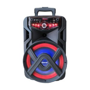 CAIXA AMPLIFICADA AMVOX ACA 185 NEW X 180W BLUETOOTH, USB, RADIO FM, MICRO SD, TWS