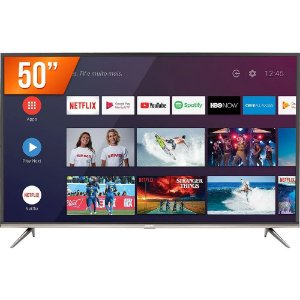 "Smart TV LED 50"" Ultra HD 4K Semp 50SK8300 Bivolt"