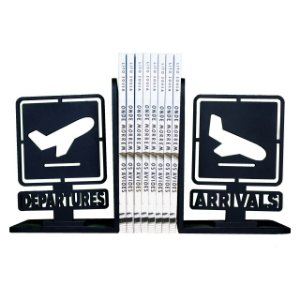 Apoio de livros Departures - Arrivals - Aviões e Músicas