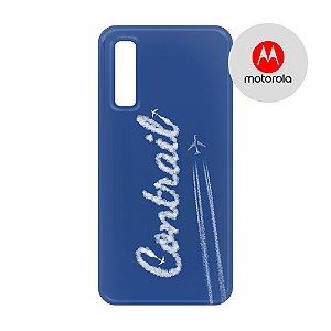 Capa para Smartphone Contrail 2 - Motorola - Aviões e Músicas