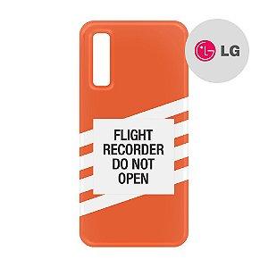 Capa para Smartphone Flight Recorder  - LG Aviões e Músicas