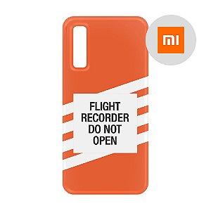 Capa para Smartphone Flight Recorder - Xiaomi - Aviões e Músicas
