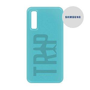 Capa para Smartphone Trip Turquesa - Samsung - Aviões e Músicas