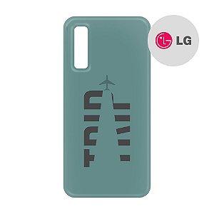 Capa para Smartphone Trip Verde Montanha - LG Aviões e Músicas