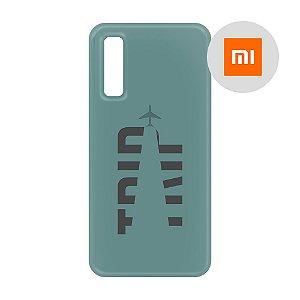 Capa para Smartphone Trip Verde Montanha - Xiaomi - Aviões e Músicas