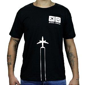 Camiseta Contrail - Preta