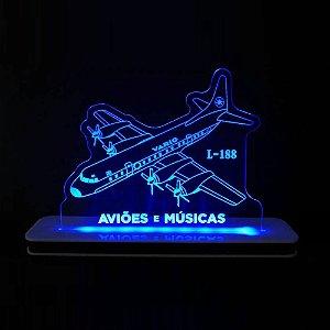 Luminária Electra L-188  Aviões e Músicas