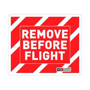 Adesivo Remove Before Flight