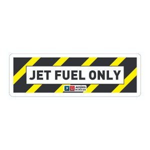 Adesivo Jet Fuel Aviöes e Músicas