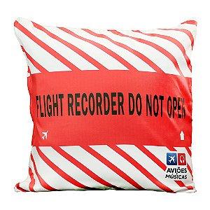 Capa Almofada Flight Recorder
