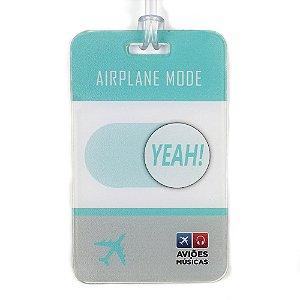 Tag de Mala Airplane Mode Yeah! Aviões e Músicas