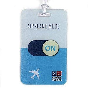 Tag de Mala Airplane Mode On Aviões e Músicas