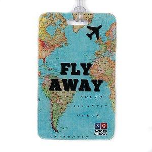 Tag de Mala Fly Away Aviões e Músicas