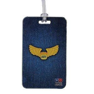 Tag de Mala Brasão Aviões e Músicas